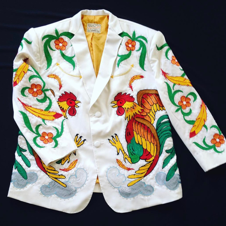 Paul Outlaw Rooster Suit